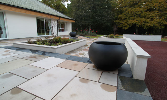 luxury outdoor space landscape design martin watt