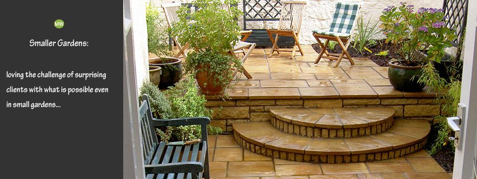 small urban and country garden designs in west lothian